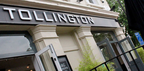 UK's Best Sports Bars #1: The Tollington