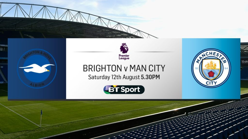 Brighton v Man City